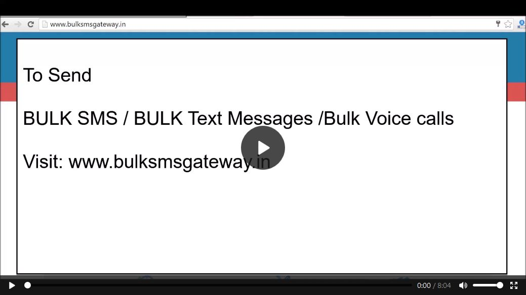 bulksms demo